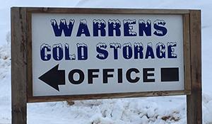 Warrens Cold Storage Office
